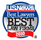 Best Law Firms 2010